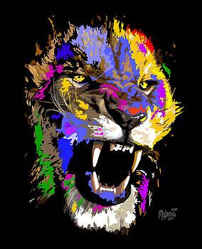 Cat Snarl by Anthony Mwangi
