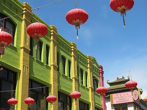 Alfred Ng - colorful chinatown
