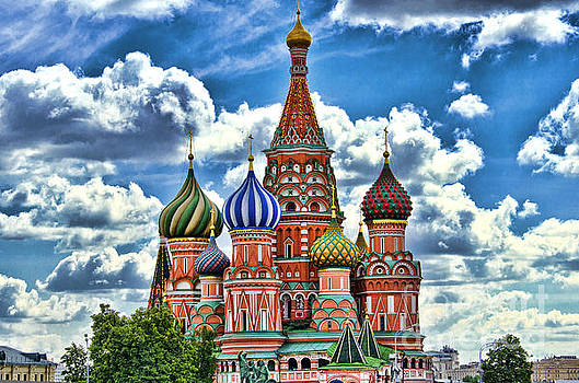 Colorful domes by Pravine Chester