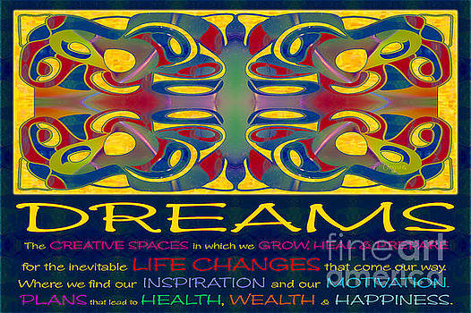 Omaste Witkowski - Colorful Dreams Motivational Artwork by Omashte