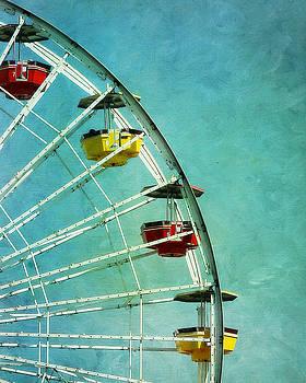 Colorful Ferris Wheel by Ken Reardon