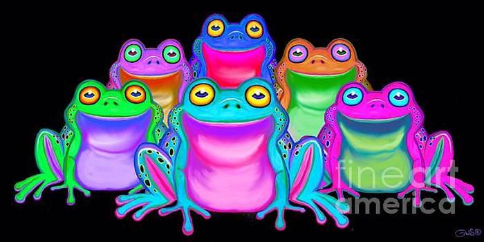 Nick Gustafson - Colorful Froggies