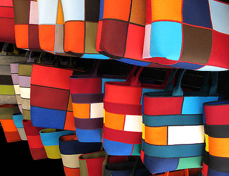 Colorful Handbags by Dave Mills