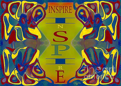 Colorful Inspiration Motivational Artwork by Omashte by Omaste Witkowski