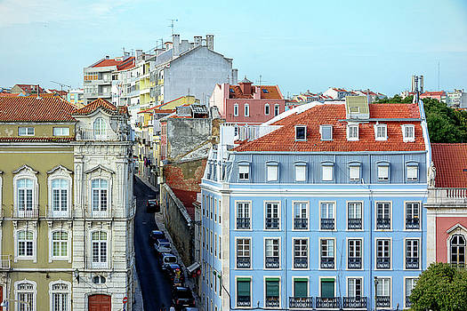 Colorful Lisbon by Marion McCristall