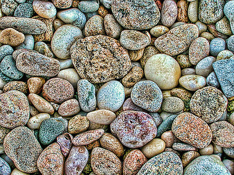 Colorful Rocks by Cathy Kovarik