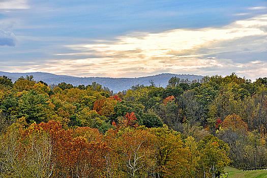 Colorful Shenandoah Valley Autumn - Virginia by Brendan Reals