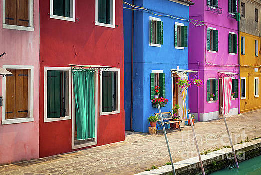 Colorful Street by Inge Johnsson