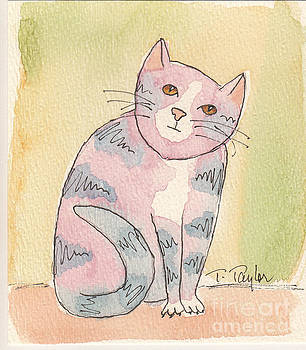 Colorful Tabby by Terry Taylor
