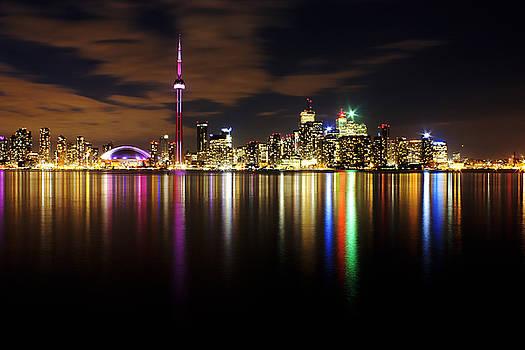 Colorful Toronto by Matt  Trimble