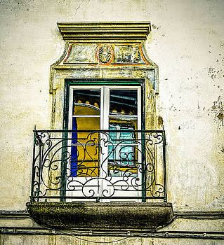 Colorful Window Reflections in Portugal by Marion McCristall
