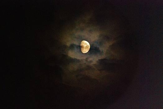 Colorfull Moon by Ramona Whiteaker