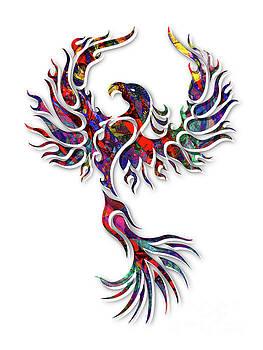 Colorful Phoenix by Robert Ball