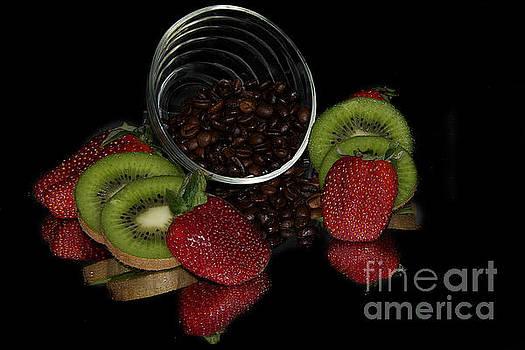Colorrful Fruits by Elvira Ladocki