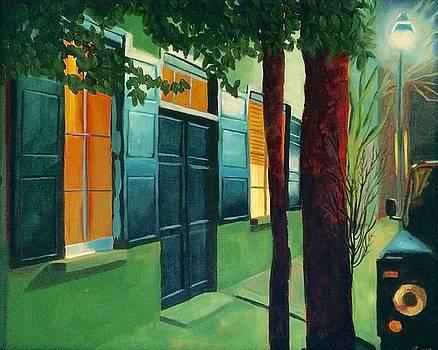 Colors at midnight by Velma Serrano