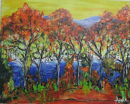 Colors of Fall by Aisha Khan
