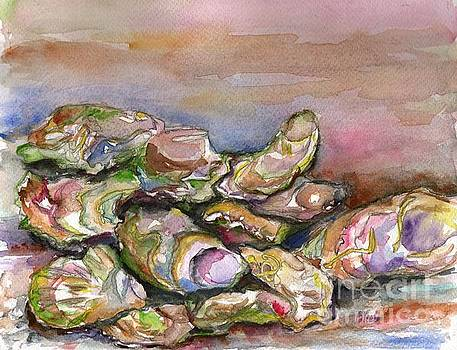 Colors of the Half Shell by Bev Veals