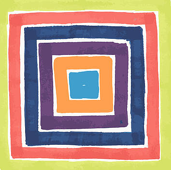 Colory Tile by Jill Lenzmeier