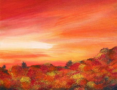 Colours of Autumn by Jesslyn Fraser