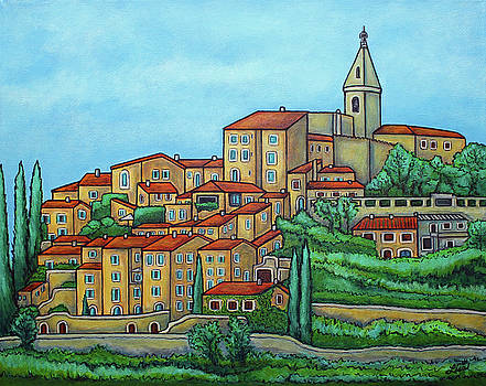 Colours of Crillon-le-Brave, Provence by Lisa Lorenz