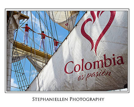 Columbian Ship by Stephanie Hayes