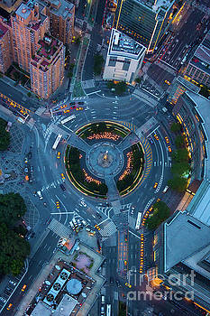 Columbus Circle by Inge Johnsson