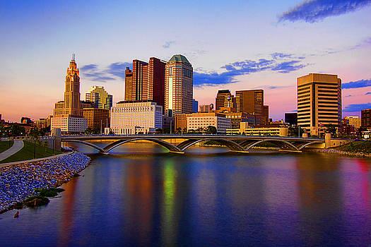 Columbus Ohio by David Rigg