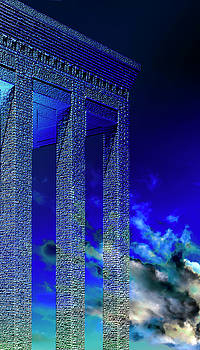 Columns Under The Heaven by Adriano Pecchio