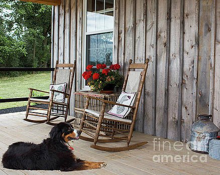 Come Sit A While by Barbara McMahon