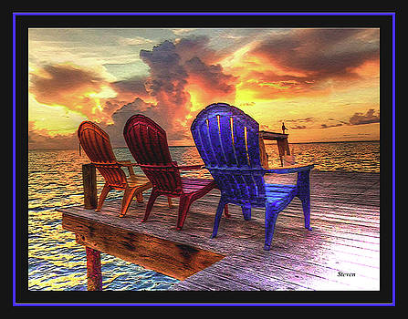 Come Sit A While by Steven Lebron Langston