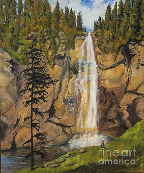 Comet Falls by Jim Krug