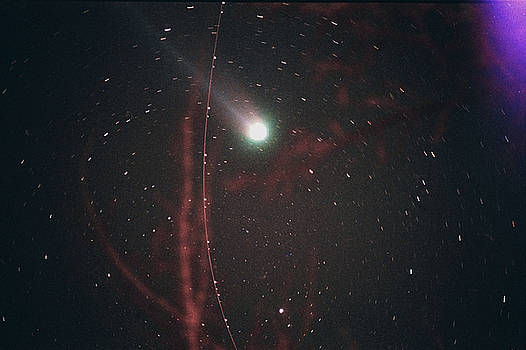 Comet Hyakutake by Andrew Kazmierski