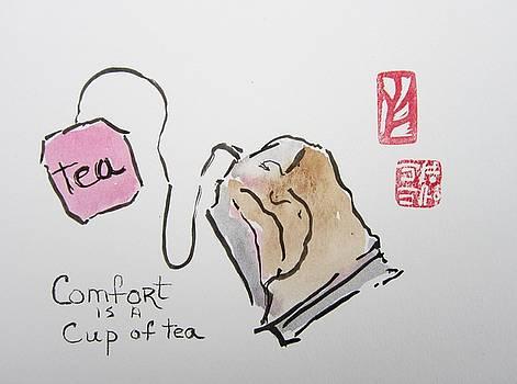 Comfort Is A Cup Of Tea by Marita McVeigh