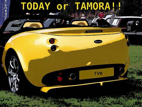 Comic Strip TVR Car by Dawn Hay