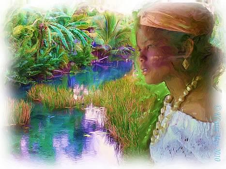 Comme Dans un reve  by Katia Creole Art