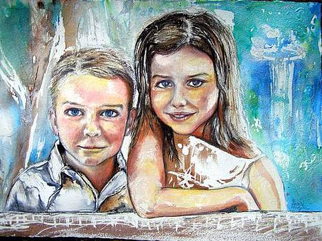 Commission Priceless by Anne-D Mejaki - Art About You productions