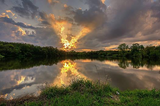 Community Lake #8 by Mark McDaniel