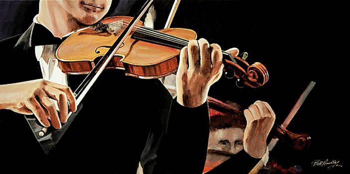 Concert Violinist by Bill Dunkley