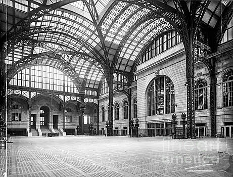 Concourse Pennsylvania Station New York by Russ Brown