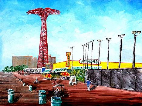 Coney Island by Irving Starr