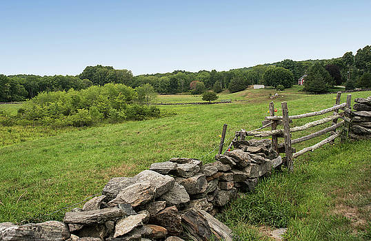 Connecticut Countryside - Summer by Lee Fortier