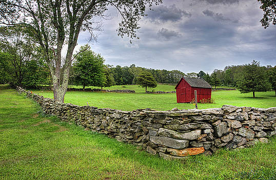 Connecticut Farm Shed by Lee Fortier