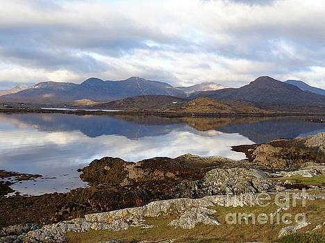 Connemara mountains by Maureen Dowd