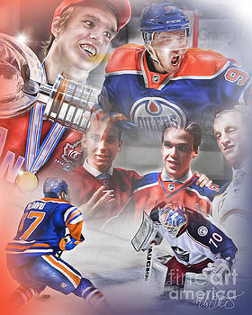 Connor McDavid by Mike Oulton