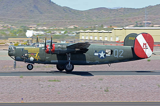 Consolidated B-24J Liberator N224J Witchcraft Deer Valley Arizona April 13 2016 by Brian Lockett