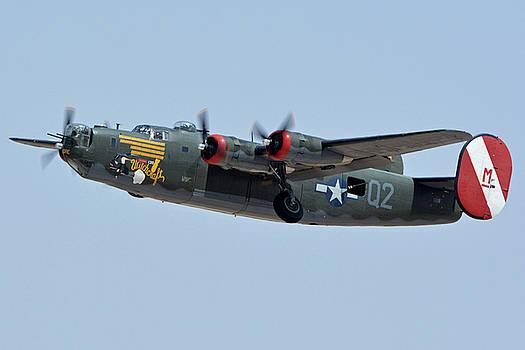 Consolidated B-24J Liberator N224J Witchcraft Phoenix-Mesa Gateway Airport Arizona April 15 2016 by Brian Lockett