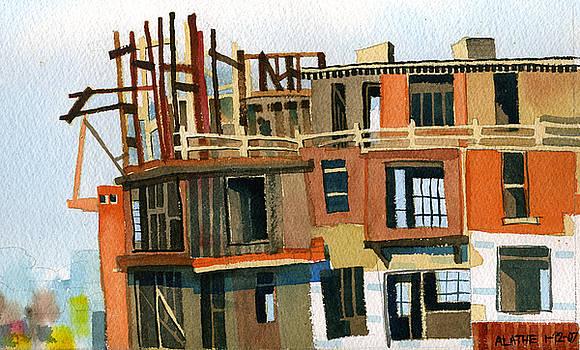 Construction 1 by Ashley Lathe