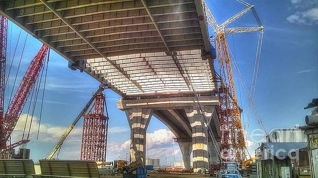 Construction in Petersburg WHSD by Yury Bashkin