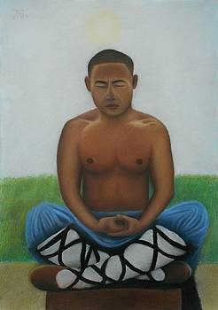 Contemplation  by Vishvesh Tadsare