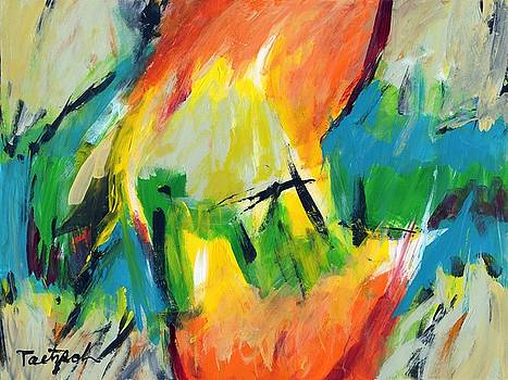 Contemporary Art Fifty-Five by Lynne Taetzsch